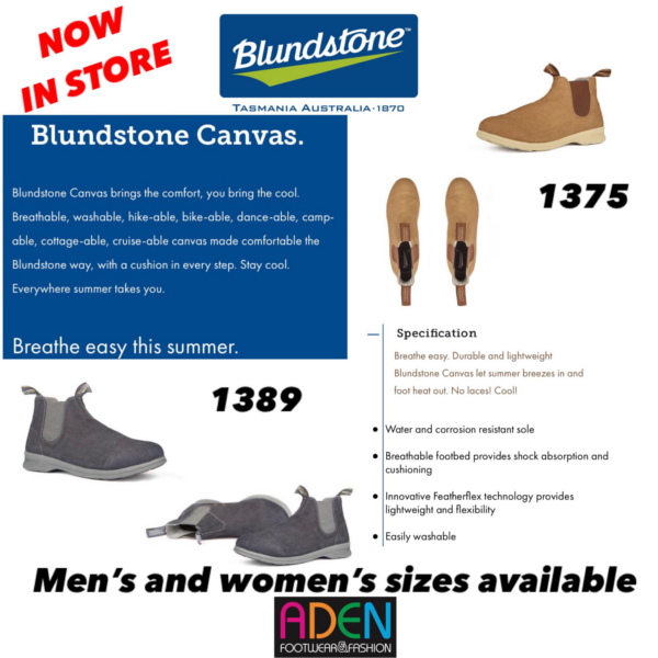 Blundstone Canvas