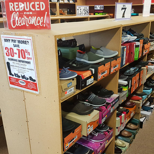Clearance Section